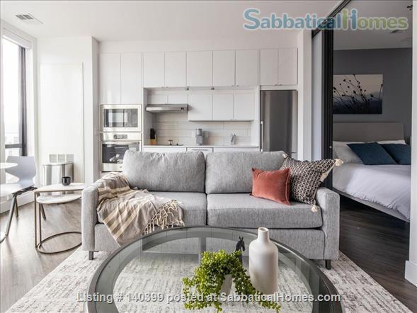 Landing Furnished Apartment Near Downtown | Gym&Rooftop Lounge, Washer&Dryer, High Ceiling, Full Kitchen | Near GU, Howard Univ. | Flexible Month to Month Leases| Seasonal Special Price Home Rental in Washington, District of Columbia, United States 2
