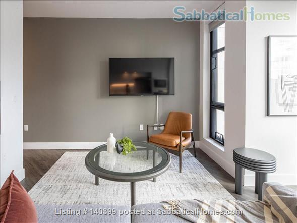 Landing Furnished Apartment Near Downtown | Gym&Rooftop Lounge, Washer&Dryer, High Ceiling, Full Kitchen | Near GU, Howard Univ. | Flexible Month to Month Leases| Seasonal Special Price Home Rental in Washington, District of Columbia, United States 4