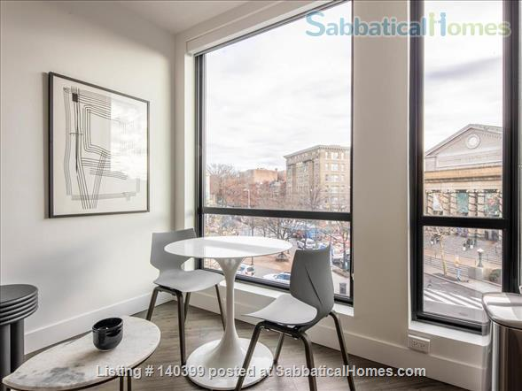 Landing Furnished Apartment Near Downtown | Gym&Rooftop Lounge, Washer&Dryer, High Ceiling, Full Kitchen | Near GU, Howard Univ. | Flexible Month to Month Leases| Seasonal Special Price Home Rental in Washington, District of Columbia, United States 6