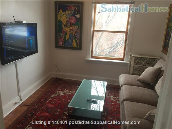 Furnished 2 bedroom flat on 3rd Floor in Victorian Home. Walk everywhere! Home Rental in Toronto, Ontario, Canada 1