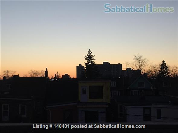 Furnished 2 bedroom flat on 3rd Floor in Victorian Home. Walk everywhere! Home Rental in Toronto, Ontario, Canada 0