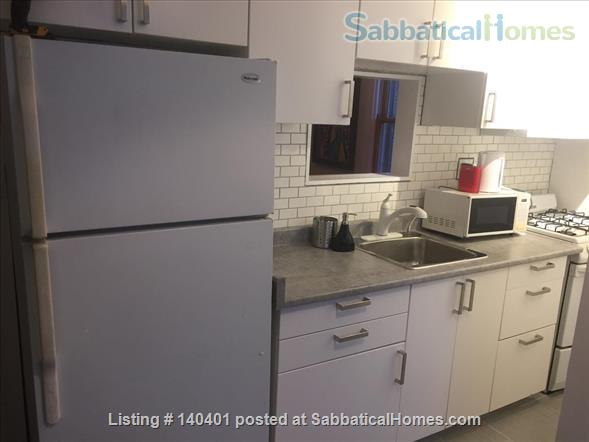 Furnished 2 bedroom flat on 3rd Floor in Victorian Home. Walk everywhere! Home Rental in Toronto, Ontario, Canada 3