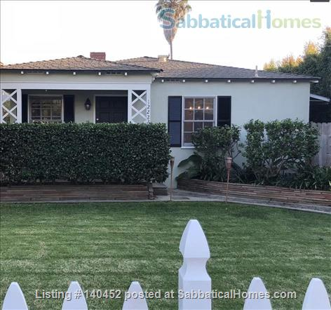 West Los Angeles Furnished 3 bdrm with fruit trees and fenced yard Home Rental in Los Angeles, California, United States 1