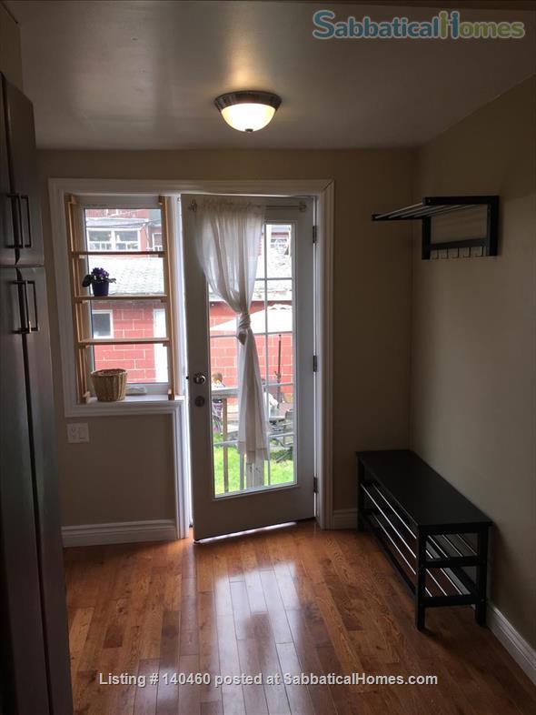 Short Term Jun 1 - Sept 30 1 bedroom main floor in Little Italy  Home Rental in Toronto, Ontario, Canada 2