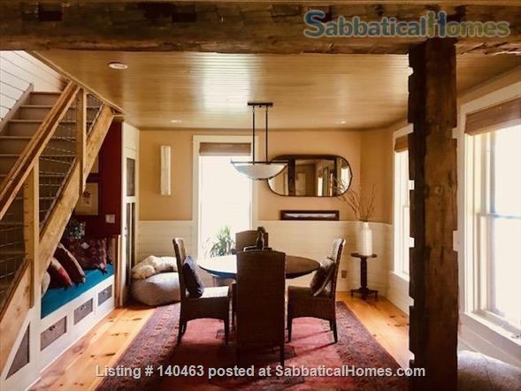 Gorgeous farmhouse near Cornell and Ithaca College Home Rental in Ithaca, New York, United States 2