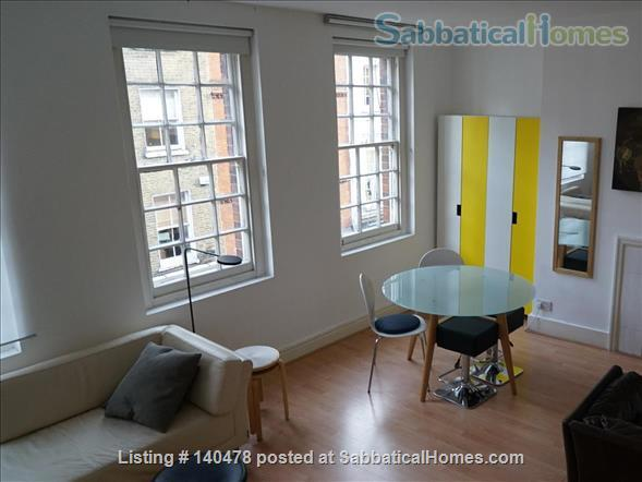 SOHO / COVENT GARDEN   One bed near Kings College, LSE, and UCL  Home Exchange in West End 1