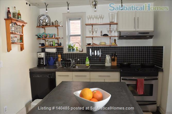 Warm, 3BR/2Bath furnished home w/ finished basement in a walkable neighbourhood Home Rental in Toronto, Ontario, Canada 2