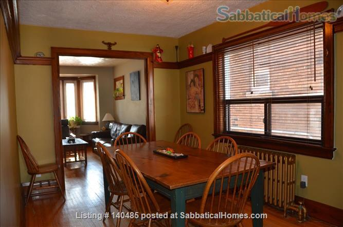 Warm, 3BR/2Bath furnished home w/ finished basement in a walkable neighbourhood Home Rental in Toronto, Ontario, Canada 3