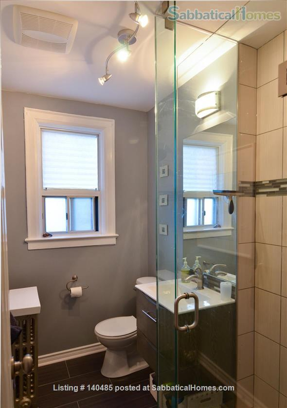 Warm, 3BR/2Bath furnished home w/ finished basement in a walkable neighbourhood Home Rental in Toronto, Ontario, Canada 8