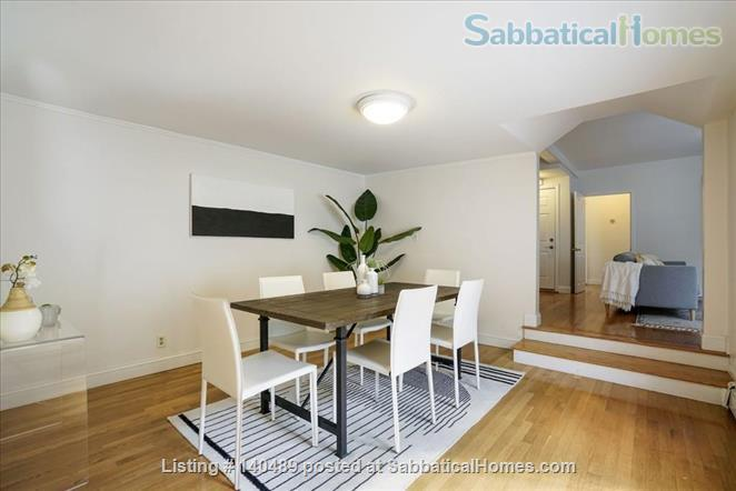 Beautiful duplex, centrally located, 3 bedrooms,  2 bathrooms (1 master)! Home Rental in Cambridge, Massachusetts, United States 0