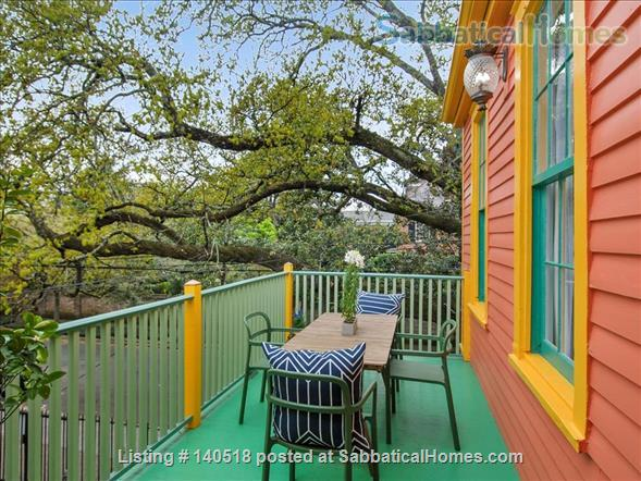 View of St. Charles from the balcony! Stay near it all at Chez Delachaise No. 2 Home Rental in New Orleans, Louisiana, United States 9