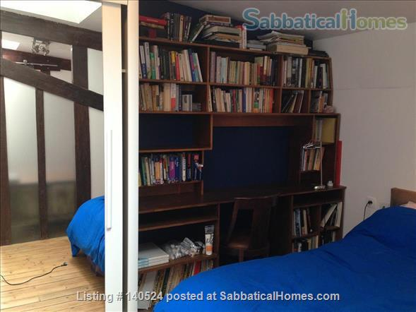 3-storey house, 3 bdr, 3 bath with private courtyard in Central Paris Home Rental in Paris, IDF, France 4