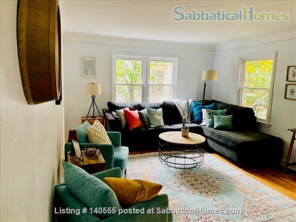 Newly Rennovated 2BR/1Bath in Quiet Neighborhood Near UMich Campus  Home Rental in Ann Arbor, Michigan, United States 1