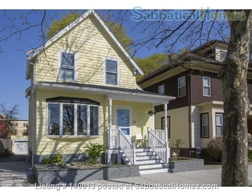 Single Family; 3 bd, 1.5 bath; Separate Home office; Close to Harvard, MIT and Tufts Home Rental in Somerville, Massachusetts, United States 1