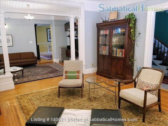 ELEGANT, 3-BEDROOM VICTORIAN GEM, DOWNTOWN! Home Rental in Ithaca, New York, United States 1