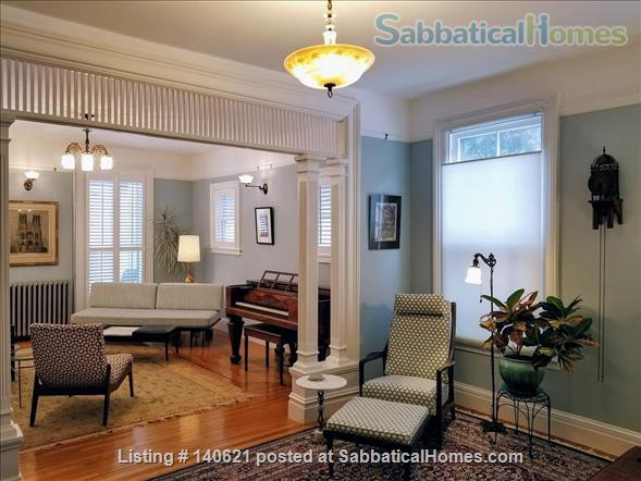 ELEGANT, 3-BEDROOM VICTORIAN GEM, DOWNTOWN! Home Rental in Ithaca, New York, United States 0
