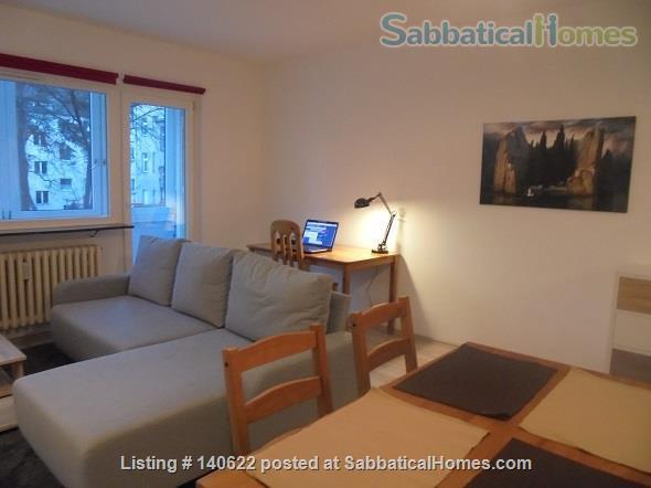 Bright 2-Room Apartment (S Schönholz) (+ Kitchen, Bathroom and Balcony) Home Rental in Berlin, Berlin, Germany 1