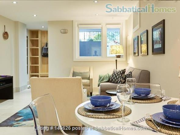 Quiet, Lower level, 1 Bedroom Flat  at Christie Park and subway Home Rental in Toronto, Ontario, Canada 1