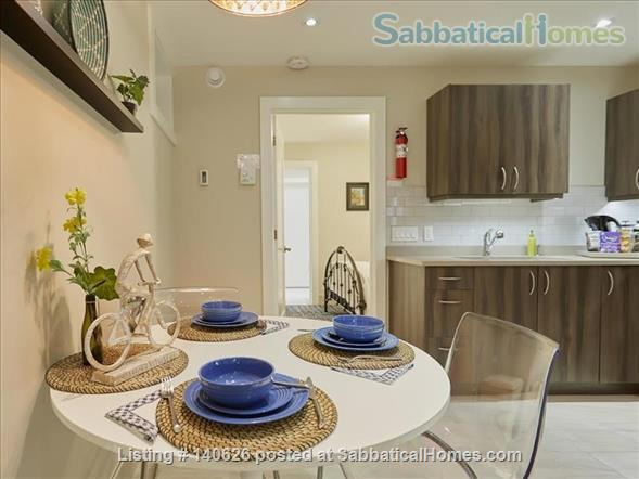 Quiet, Lower level, 1 Bedroom Flat  at Christie Park and subway Home Rental in Toronto, Ontario, Canada 2