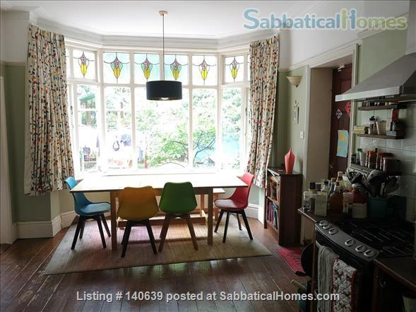 Lovely 4 bed family home with garden Manchester UK Home Rental in Manchester, England, United Kingdom 0