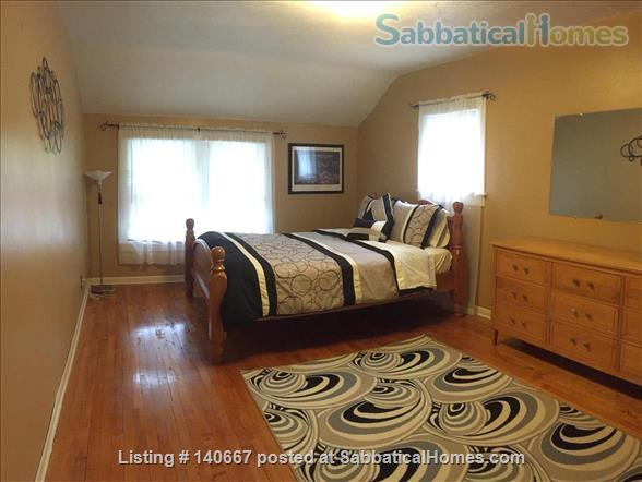 Charming & Comfy House Close to Notre Dame Home Rental in South Bend, Indiana, United States 4