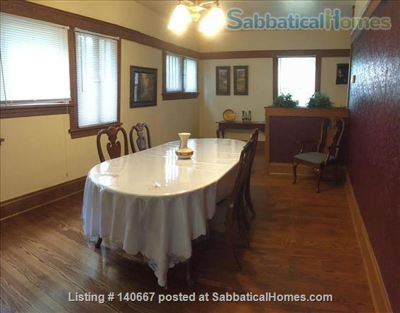 Charming & Comfy House Close to Notre Dame Home Rental in South Bend, Indiana, United States 7