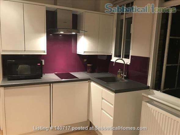 Central London Studio-Flat in excellent condition - superb central location by UCL and British Museum - Bills included Home Rental in Bloomsbury, England, United Kingdom 1