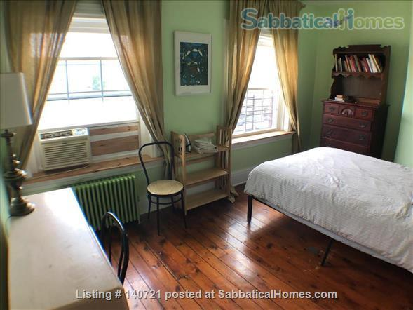 Two large furnished rooms with queen sized beds, kitchenette and marble bathroom Home Rental in Newark, New Jersey, United States 1