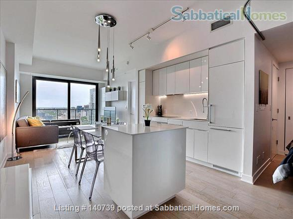Apartment Downtown Montreal in the Montreal Canadiens Condo Complex Home Rental in Montreal, Quebec, Canada 0
