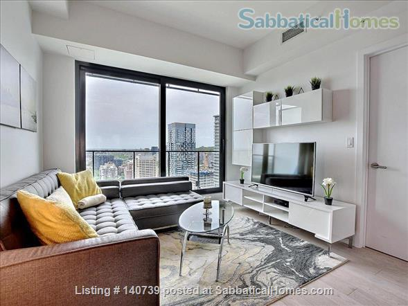 Apartment Downtown Montreal in the Montreal Canadiens Condo Complex Home Rental in Montreal, Quebec, Canada 3