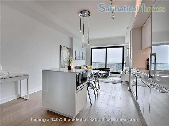 Apartment Downtown Montreal in the Montreal Canadiens Condo Complex Home Rental in Montreal, Quebec, Canada 4