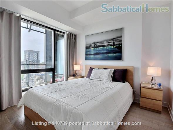 Apartment Downtown Montreal in the Montreal Canadiens Condo Complex Home Rental in Montreal, Quebec, Canada 5
