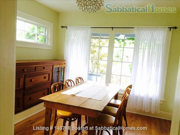Craftsman house with garden four blocks from campus Home Rental in Eugene, Oregon, United States 0