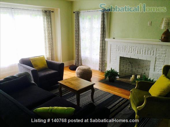 Craftsman house with garden four blocks from campus Home Rental in Eugene, Oregon, United States 3