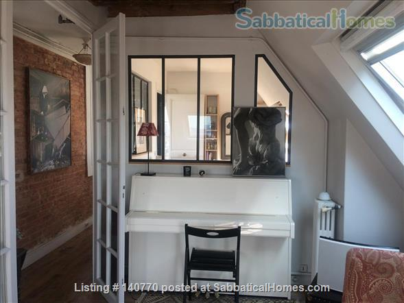 Apartment with view over Paris  Home Rental in Paris, IDF, France 0