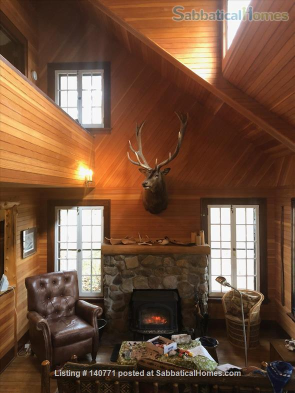 Beautiful 1920s Cabin on an Island in the Adirondacks for Exchange Home Exchange in Vermontville, New York, United States 2