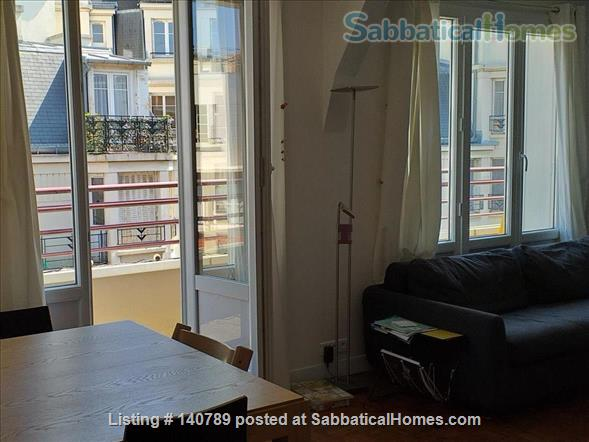 Quiet and sunny 3 BR apt, Pasteur-Montparnasse-UNESCO, near universities Home Rental in Paris, IDF, France 1