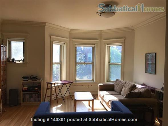 Bright Spacious Beautiful Greystone Apartment (2 bedroom + 2 office) Home Rental in Chicago, Illinois, United States 2