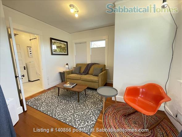 Quiet & Well Stocked Garden Flat, Great Location Home Rental in Oakland, California, United States 2