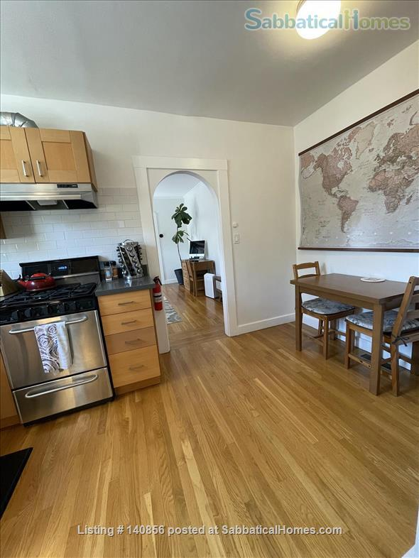 Quiet & Well Stocked Garden Flat, Great Location Home Exchange in Oakland 6 - thumbnail