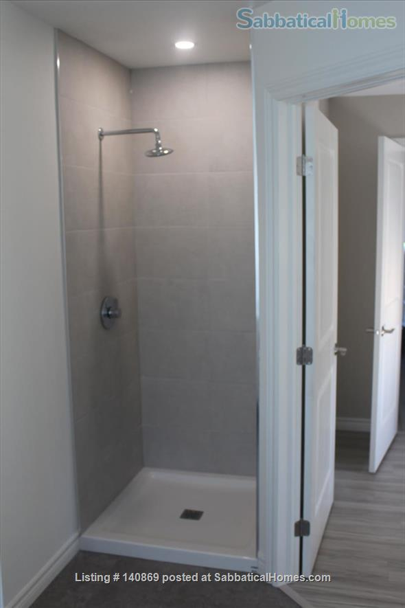 DOWNTOWN BRAND NEW Centre St.  3Bed 2Bath 2ndFloor All-Incl Furnished Upscale Suite in Premier Downtown Kingston Queen's Hospital Lake neighborhood Home Rental in Kingston, Ontario, Canada 4