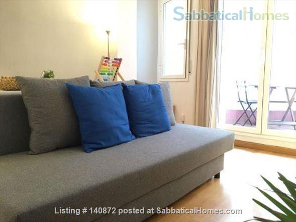 Cozy Apartment in the heart of Barcelona, close to Parc Ciutadella and University Pompeu Fabra Home Rental in Barcelona, CT, Spain 6