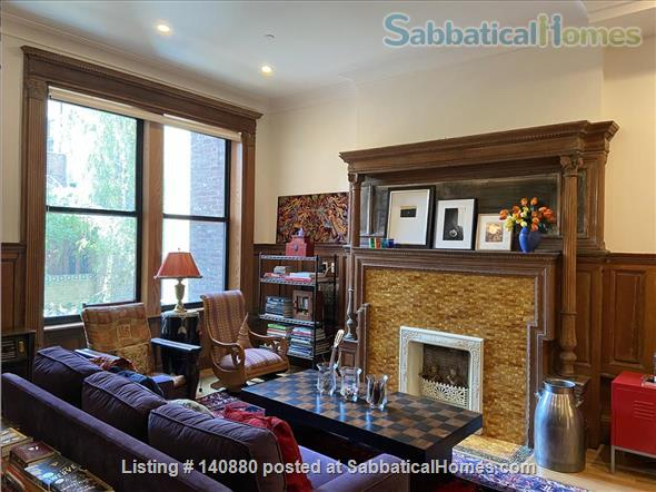 Cool and Cozy Harlem Brownstone Apartment Home Rental in New York, New York, United States 1