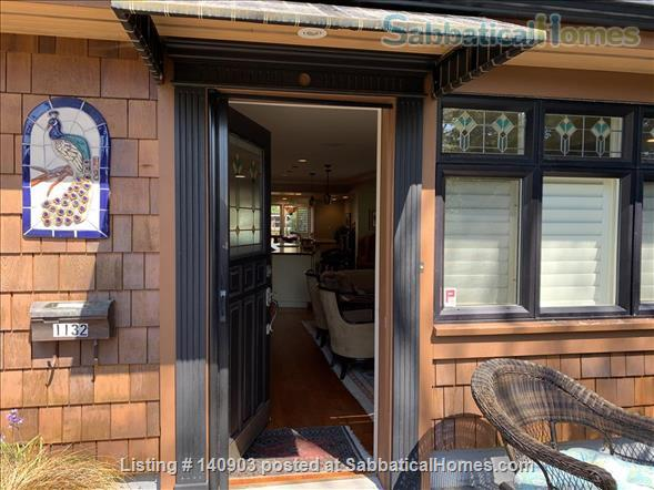 Luxurious Ground Floor Suite - walk to ocean, park, village Home Exchange in Victoria, British Columbia, Canada 1