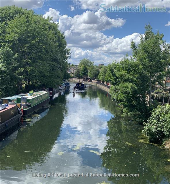 Bright, spacious Maida Vale/Little Venice home Home Rental in London, England, United Kingdom 1