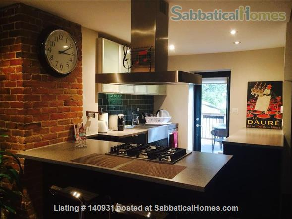Charming three-story, three-bedroom Plateau townhome  Home Rental in Montreal, Quebec, Canada 1