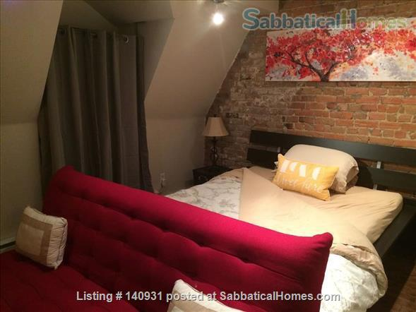 Charming three-story, three-bedroom Plateau townhome  Home Rental in Montreal, Quebec, Canada 4