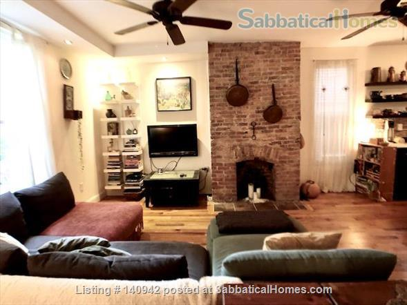 Elegant Furnished City House w/ Private Parking & Backyard Home Rental in Prospect Lefferts Gardens, New York, United States 1
