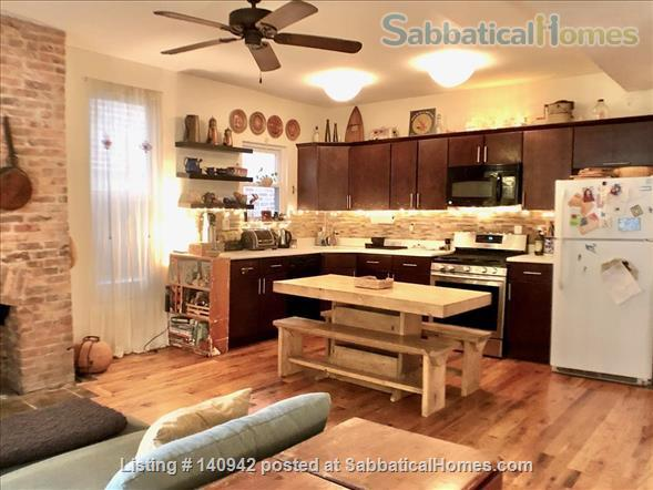 Elegant Furnished City House w/ Private Parking & Backyard Home Rental in Prospect Lefferts Gardens, New York, United States 0