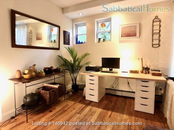 Elegant Furnished City House w/ Private Parking & Backyard Home Rental in Prospect Lefferts Gardens, New York, United States 2